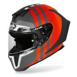 Motoristična čelada GP550 S Orange Matt Skyline – Airoh