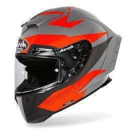 Motoristična čelada GP550 S Orange Matt Vektor – Airoh