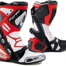 Moto škornji Ice Pro rdeče/beli – Forma