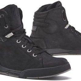 Moto čevlji Swift Dry črni – Forma