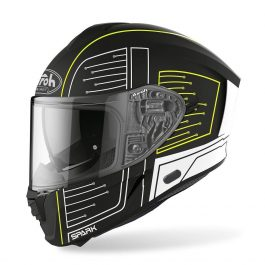 Moto čelada Spark Black Matt Cyrcuit – Airoh