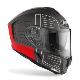 Moto čelada Spark Red Matt Cyrcuit – Airoh