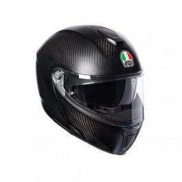 Preklopna čelada Sportmodular Matt carbon – Agv
