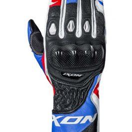 Moto rokavice RS Circuit-R belo/modro/rdeče – Ixon