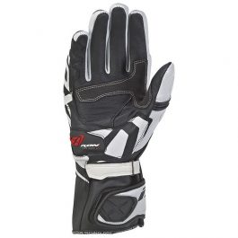 Moto rokavice RS Circuit-R črno/bele – Ixon