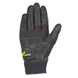 Moto rokavice RS Grip črno/bele/rumene – Ixon