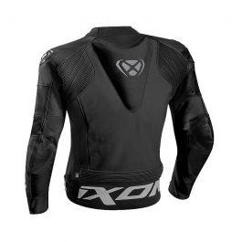 Motoristična usnjena jakna Falcon črna – Ixon