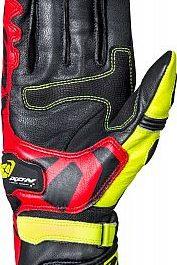 Moto rokavice RS Circuit-R črno/rdeče/rumene – Ixon