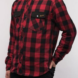 Moto srajca Alaska rdeča – Broger
