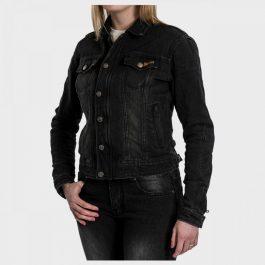 Ženska jeans jakna Florida črna – Broger