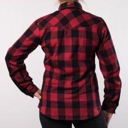 Ženska moto srajca Alaska rdeča – Broger