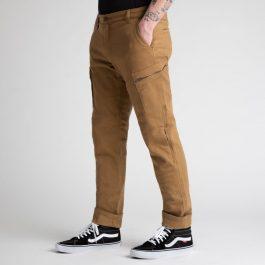 Jeans hlače Alaska caramel – Broger