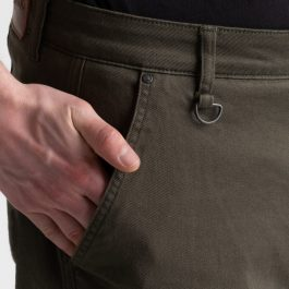 Jeans hlače Alaska olivno zelene – Broger