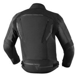 Moto jakna Borg črna – Rebelhorn