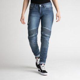 Ženske jeans hlače Ohio washed blue – Broger