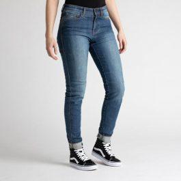 Ženske jeans hlače California washed blue – Broger