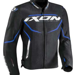 Moto jakna Sprinter črna/modra – Ixon