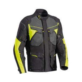 Moto jakna Crosstour-črna/fluo rumena-Ixon