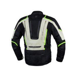 Moto jakna Hiker III sivo/črna-Rebelhorn